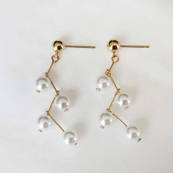 Camell earrings