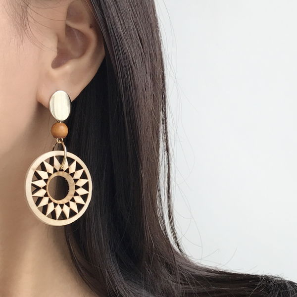Sunflo earrings